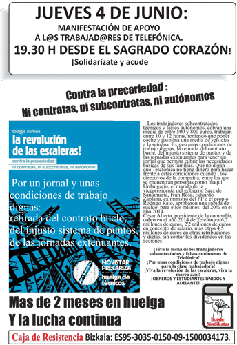 Cartel de convocatoria